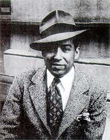 James Mercer Langston Hughes poet, social activist, novelist, playwright, and columnist. Iconic Gentleman