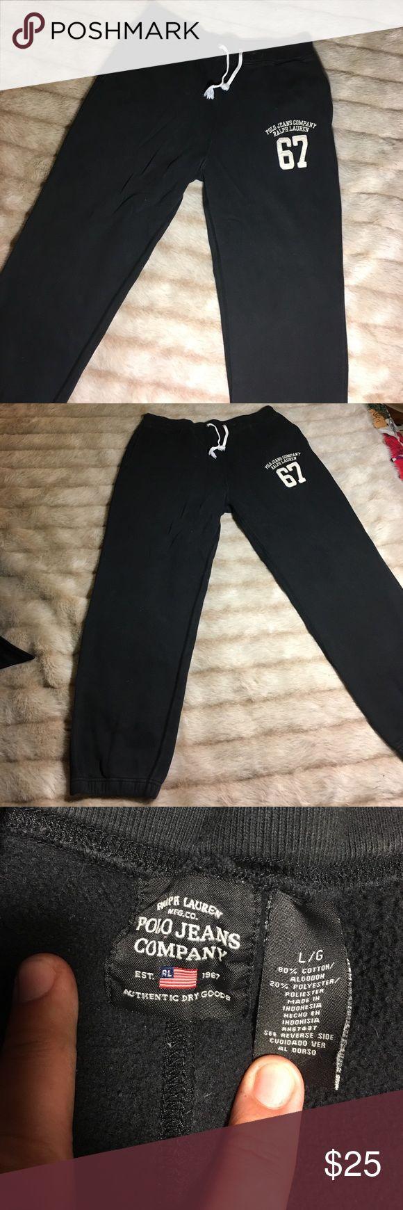 Ralph Lauren Polo Jeans Joggers x Sweatpants Size Large - Condition excellent Polo by Ralph Lauren Pants
