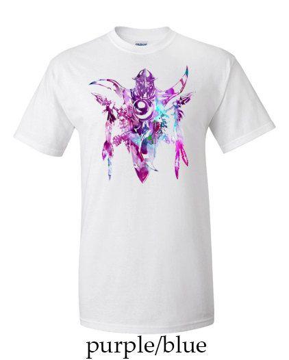 Alliance Night Elf Crest World of Warcraft Mens T-shirt
