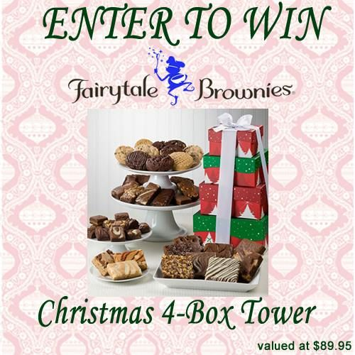 Here is another giveaway in the Countdown to Christmas Giveaway Series… This giveaway series will feature a range of items that you will find in my Holiday Gift Guide! One LUCKY winner will receive a Fairytale Brownies Christmas 4-box Tower – Valued at $89.95! The Christmas 4-box Tower from Fairytale Brownies would make a great […]