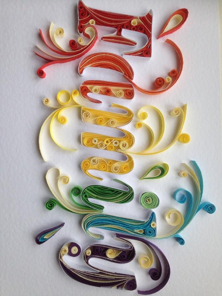 616 best quilling letters words and numbers images on pinterest cut by hand family quill paper quilling designsquilling ideasquilling artquilling lettersquilling tutorialpaper altavistaventures Images