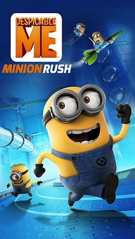 FREE Despicable Me Minion Rush App! {iPhone and Android}