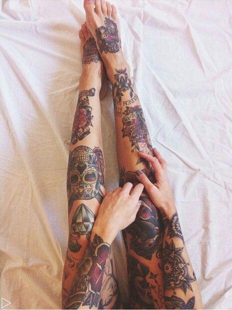 Tattoos legs                                                                                                                                          …