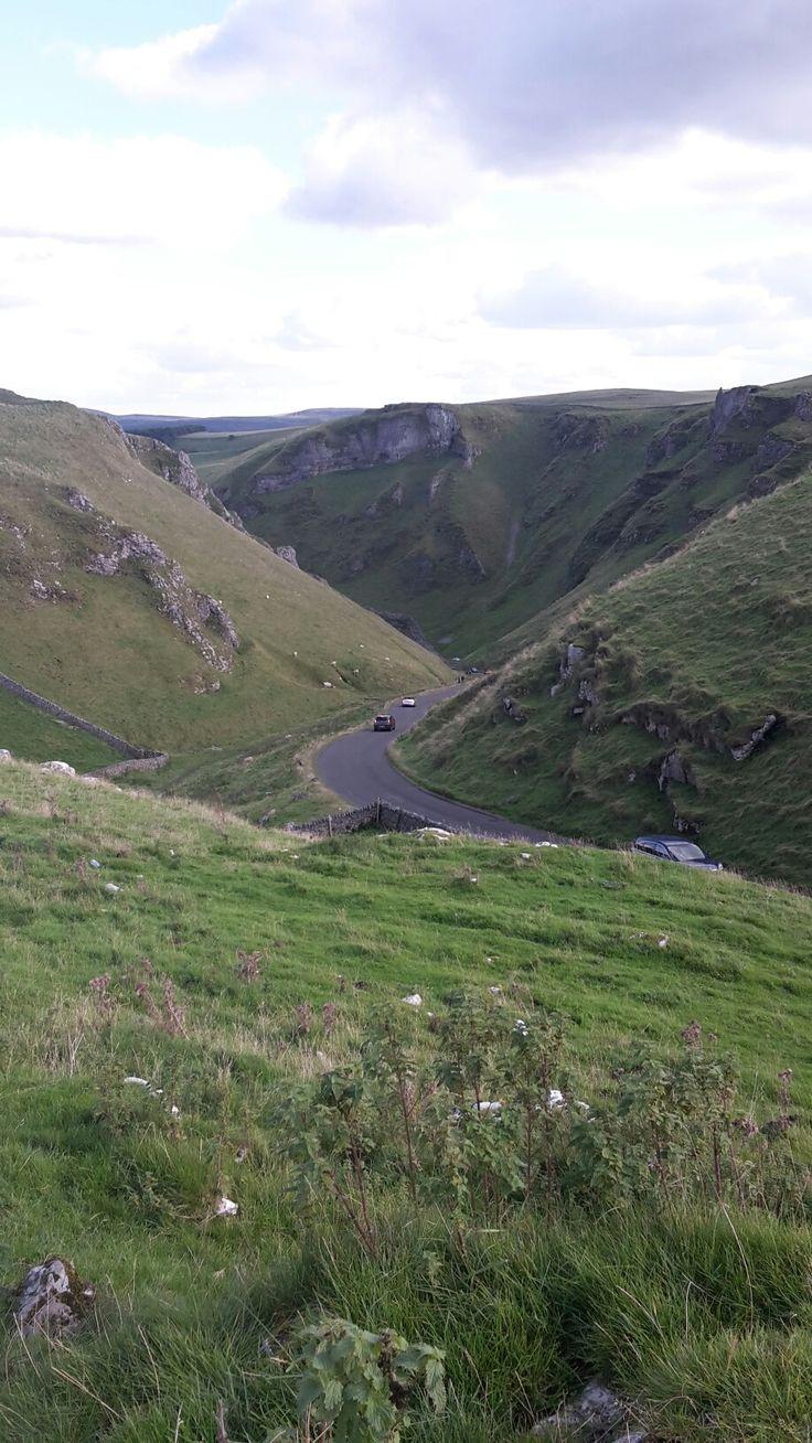 Winnats pass. Derbyshire               taken by juliette