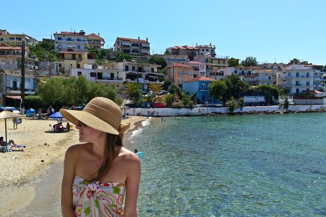 Beautiful colors in Limenas, the capital of Thassos