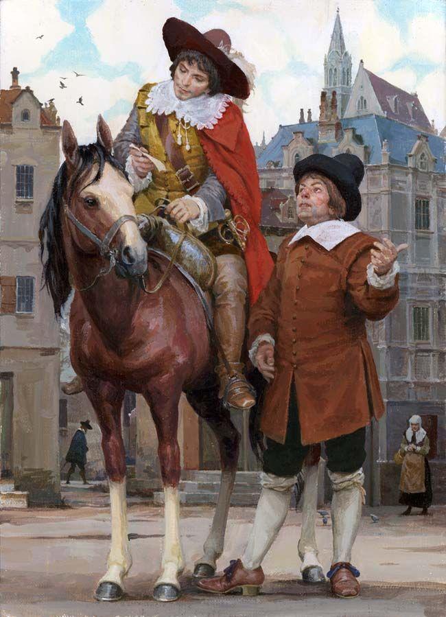 Картинки мушкетеров на коне для детей, поздравления открытках как