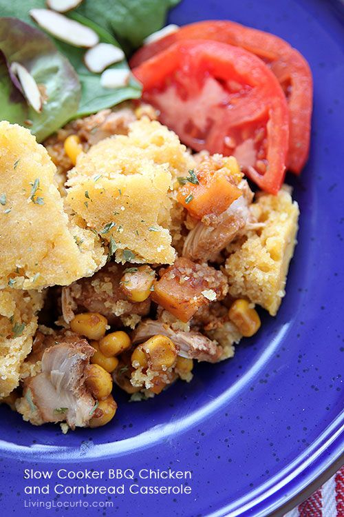 discount sunglasses maui jim Slow Cooker BBQ Chicken and Cornbread Casserole Recipe Cornbread Barbecue and Cornbread Recipes