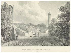 Clondalkin Castle view from 1830