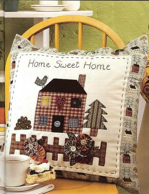 hermoso cojin home sweet home