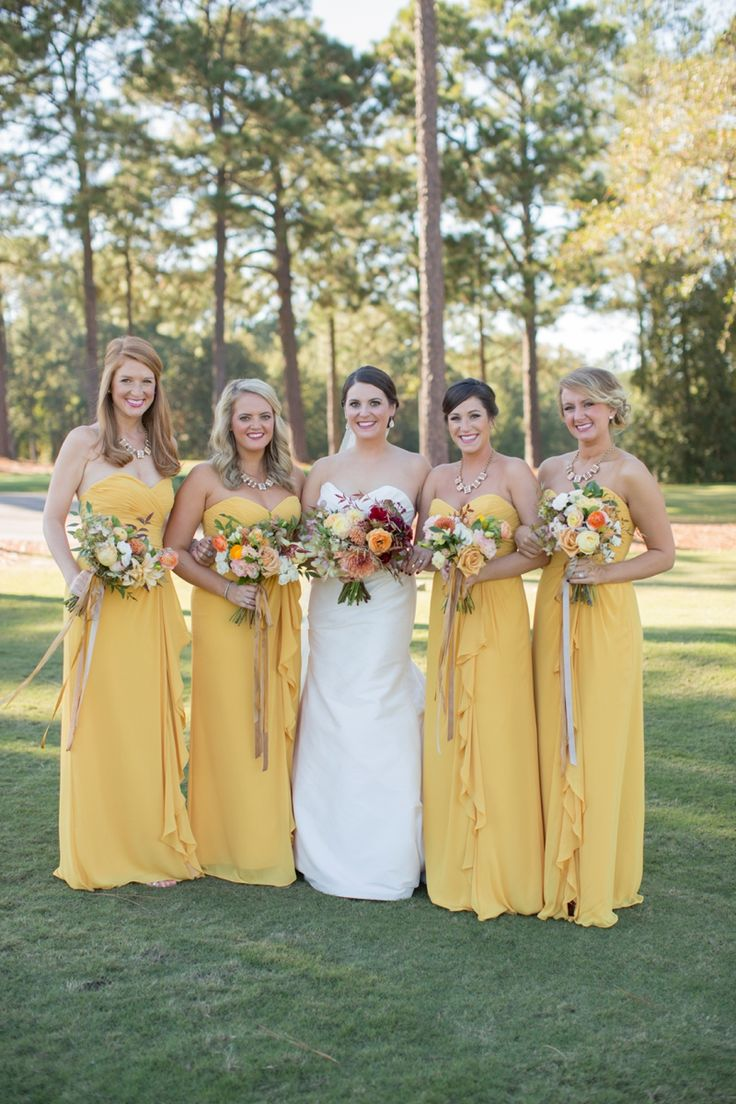 503 best bridesmaid dresses images on pinterest blue bridesmaids autumn inspired south carolina wedding yellow bridesmaidsbridesmaid dressessouth ombrellifo Image collections