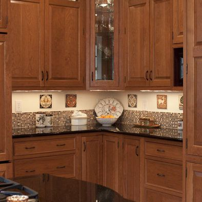 Partial Backsplash Design Pictures Remodel Decor And