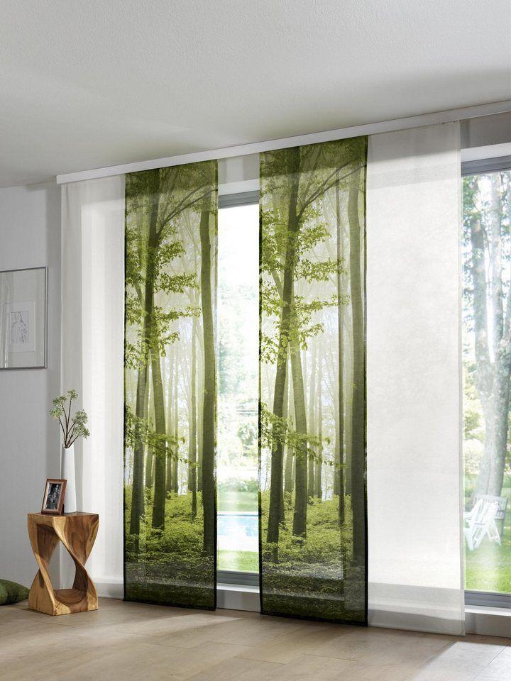 Heine Home Schiebevorhang Schiebevorhang Vorhange Vorhange Wohnzimmer
