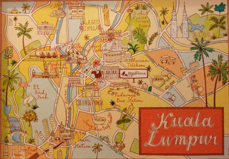 LOKL map of Kuala Lumpur