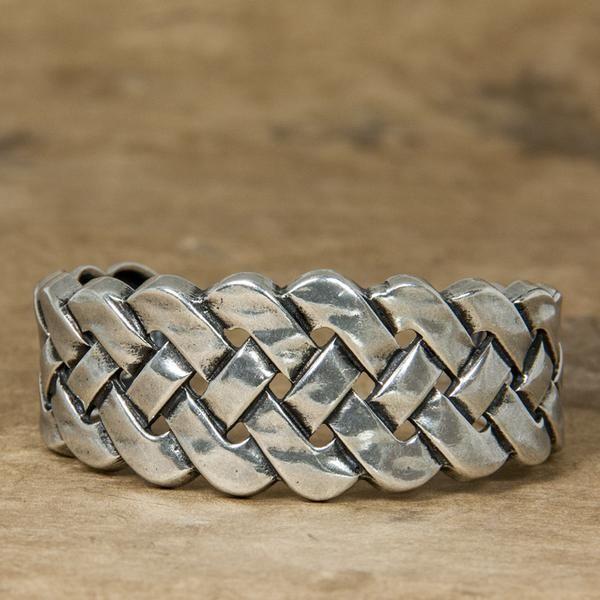 Bracelet | Britannia Metal | Celtic Braid