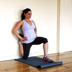 Stretch It: Kneeling Quad Stretch Against a Wall