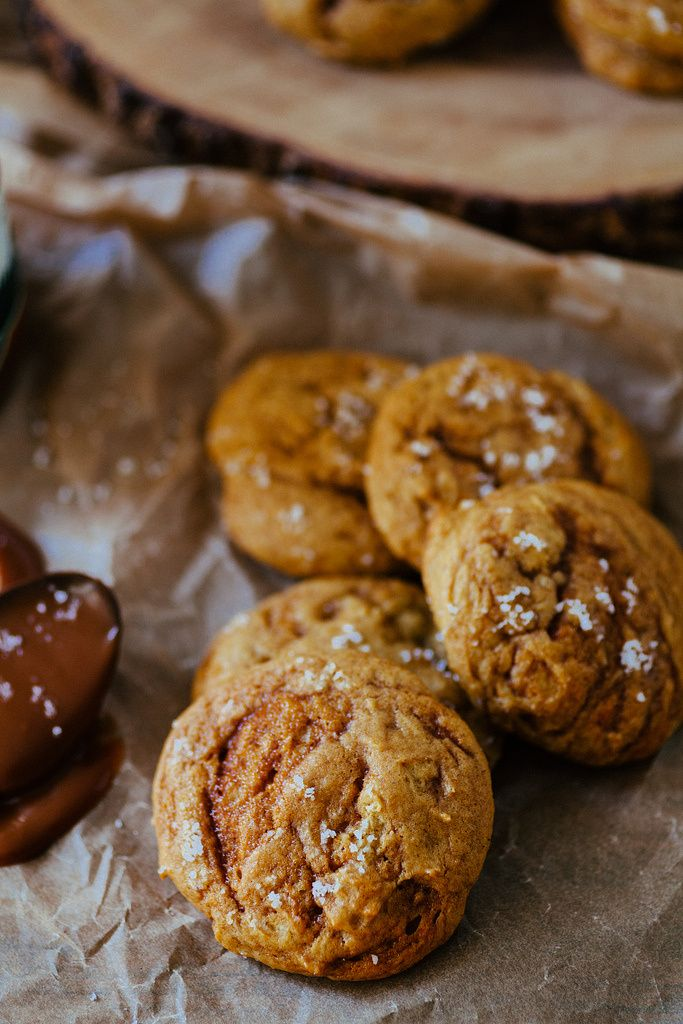 Pumpkin Caramel Swirl Cookies - The Crepes of Wrath - The Crepes of ...