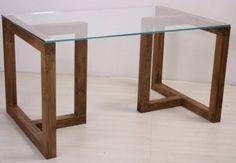 base mesa de jantar madeira para vidro quadrado o retangular                                                                                                                                                                                 Mais