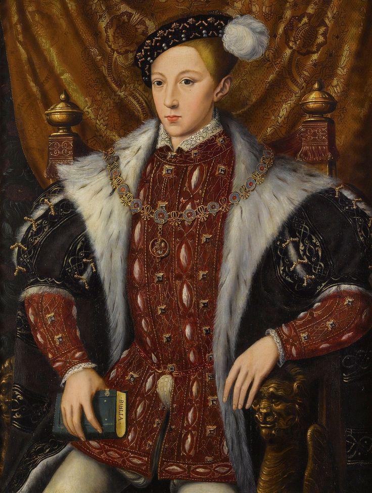 Эдуард VI - король Англии и Ирландии, сын короля Генриха VIII. Уильям Скротс (1537–1553)