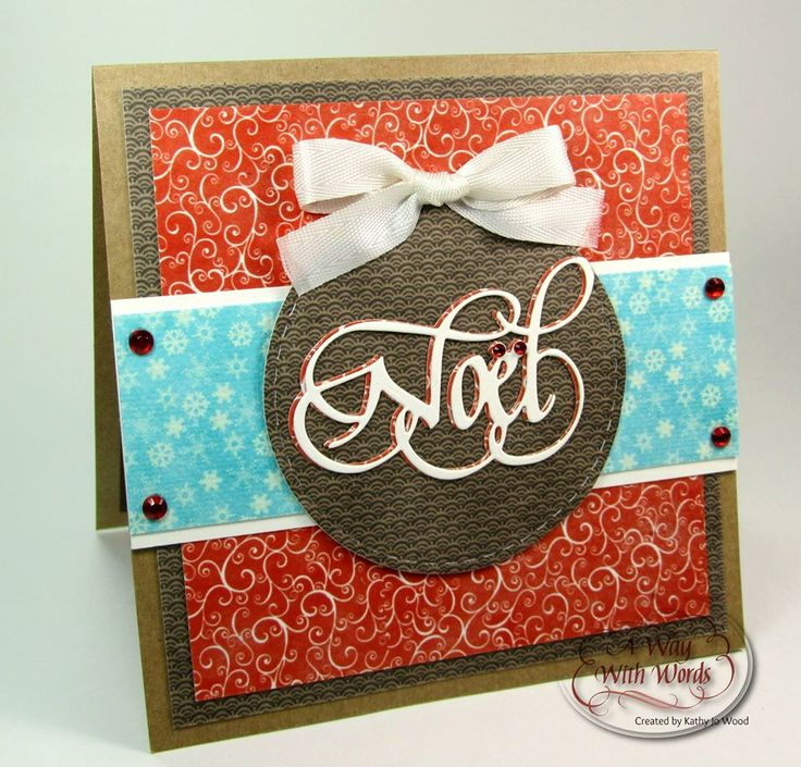We're loving Kathy Jo Wood's color combination on this card! View the complete…