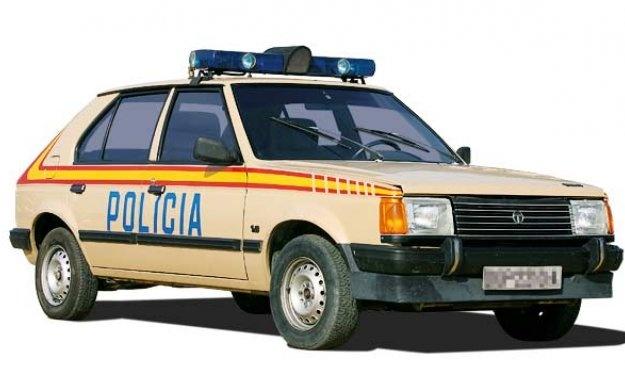 Talbot Horizon 1982 policia española