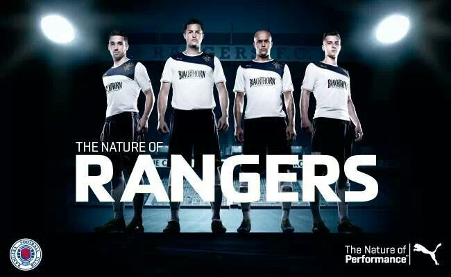 The nature of Rangers - Rangers Puma away kit launch