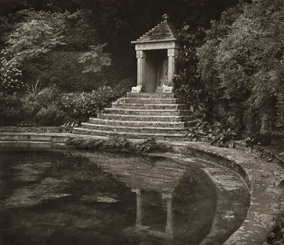 Surya's Temple, Sezincote by Beth Dow
