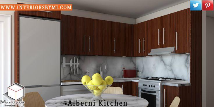 Alberni Kitchen #concept  #InteriorDesign #Visualization #PhotoRealistic