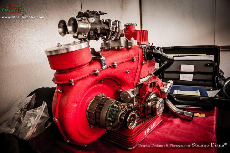 MOTORE CON ALBERO A 90° (scoppio irregolare) fiat 500 - 500automotor