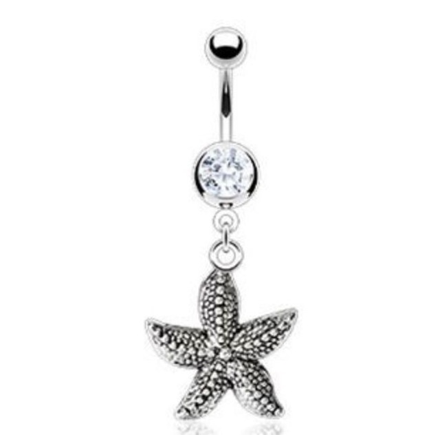 perfect summer belly ring!