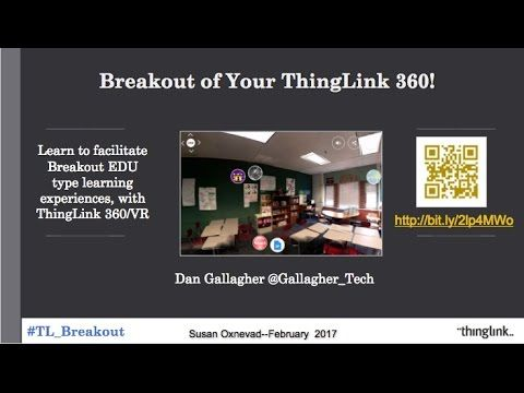 Breakout of Your ThingLink VR/360° Webinar - YouTube