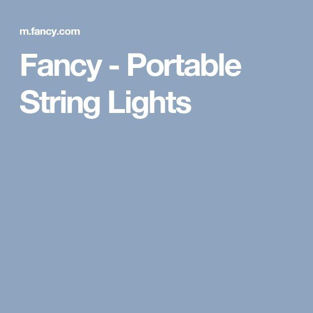 Fancy - Portable String Lights