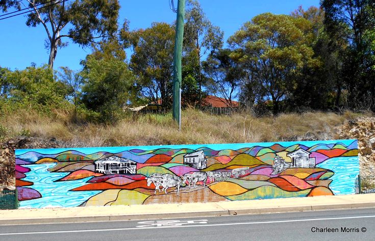 Gemvale RD MURAL, Reedy Creek, City of Gold Coast