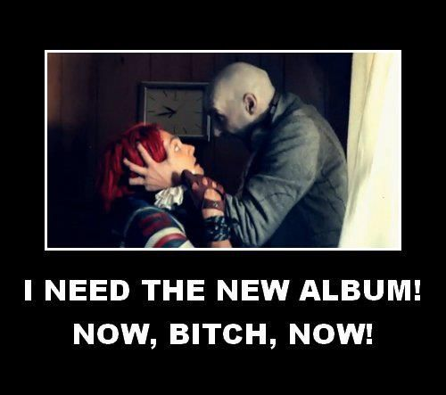 I need the new album now!! by The-MCR-Fan-Club.deviantart.com on @deviantART