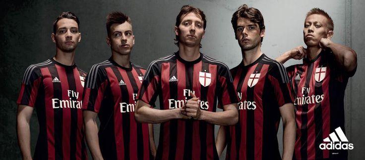 Leave the past behind, take hold of the future. The 2015/16 AC Milan Home jersey.  Lascia il passato alle spalle, afferra il futuro. Nuova maglia Home AC Milan per la stagione 2015/16.  新ユニフォームでローマに2-1で勝利したミラン!15/16シーズンのホームユニフォームは、本日よりオフィシャルオンラインストアでの予約販売開始!