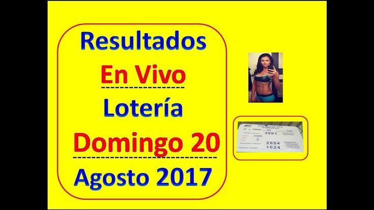 Resultados En Vivo Sorteo Extraordinaria Domingo 20 Agosto 2017 Loteria Nacional de Panama Numeros