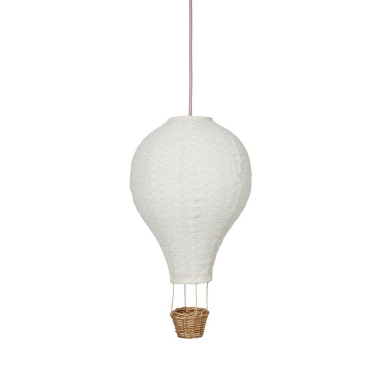 Cam Cam lampe til børneværelset - Luftballon med rosa ledning