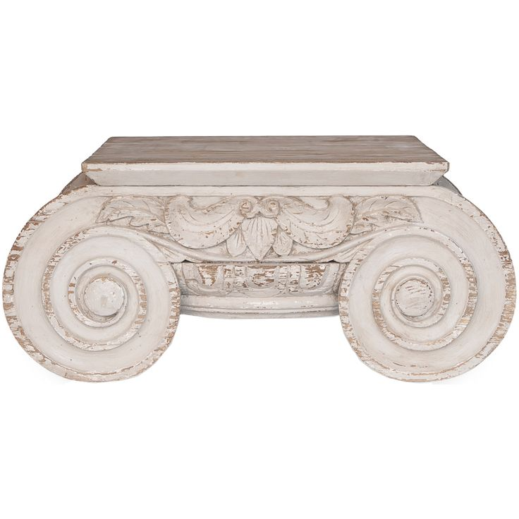 Furniture :: Coffee Tables :: Doric White Shabby Chic Coffee Table