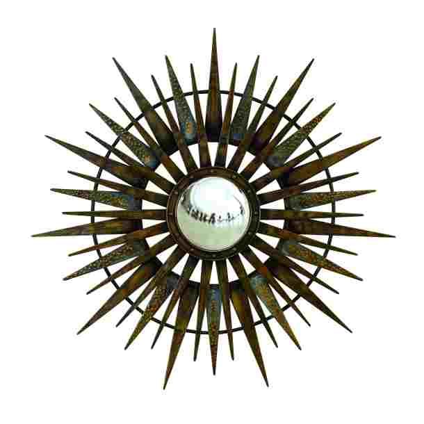 26 best metal art images on pinterest metal wall decor for Round mirror canada