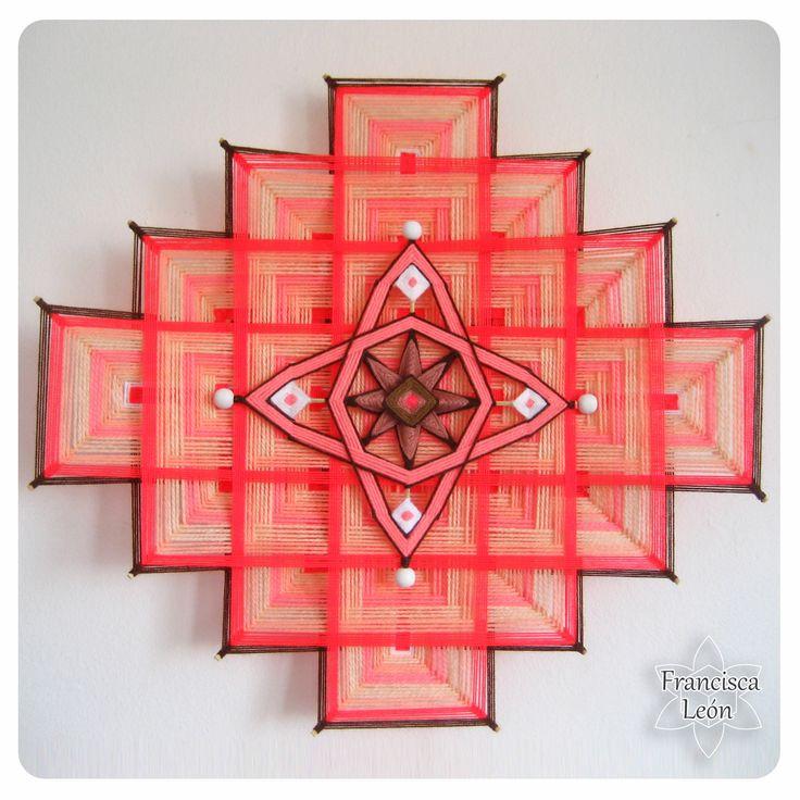 Realizo clases en Santiago de Chile ♥ Facebook: Mandalas Tejidos Francisca León ♥ Web: www. talleresdemandalas .cl ♥ correo: leon.francisca@ gmail. com ♥