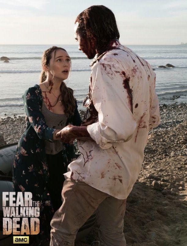 """Fear the walking dead, season 2, episode 3, """"Ouroboros"""""""
