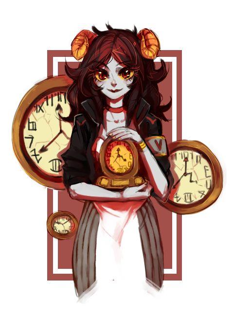 ((Clock Shop Helper))  Aradia -- Homestuck