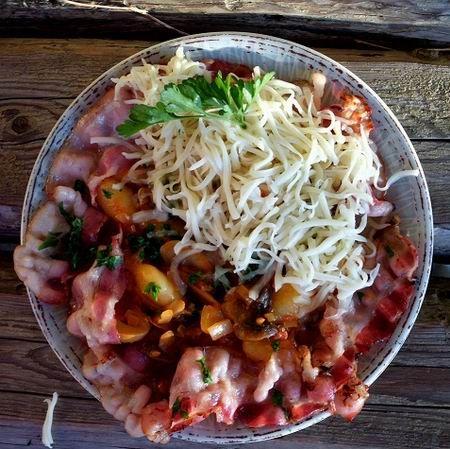 Gombás-paradicsomos gnocchi sült szalonnával Recept képpel -   Mindmegette.hu - Receptek