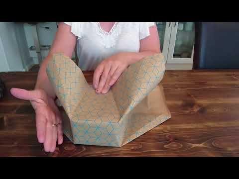 Geschenk einpacken im Kimono Style – YouTube