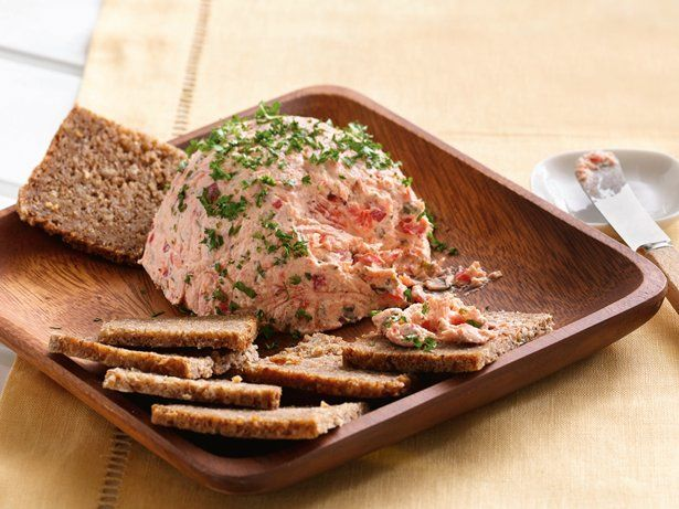 Smoked Salmon Pâté  15-minute recipe! Smoked salmon and seasonings dress up a flavored cream cheese spread.   Lox is salmon that is brine-cured, then cold-smoked.