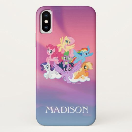 online store b19ee c95f7 My Little Pony | Mane Six on Clouds Case-Mate iPhone Case | Zazzle ...