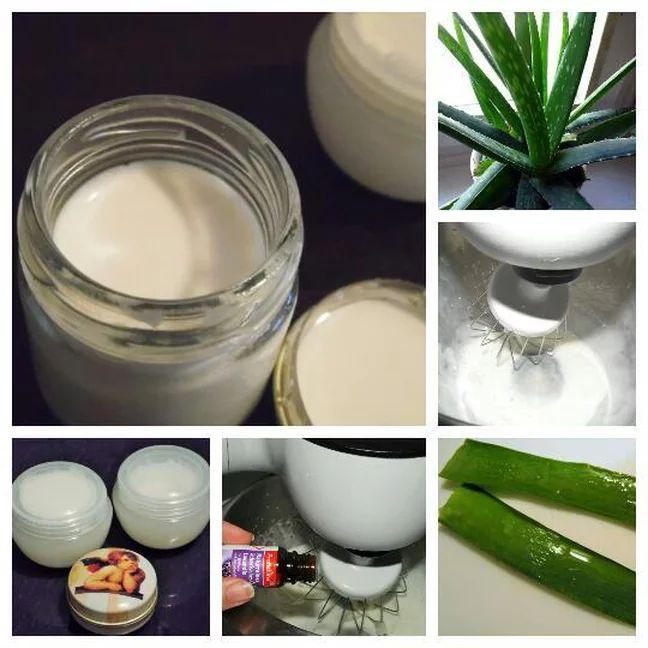 Aus Milch und Öl kann man in wenigen Schritten eine tolle Creme oder Lotion selber machen.
