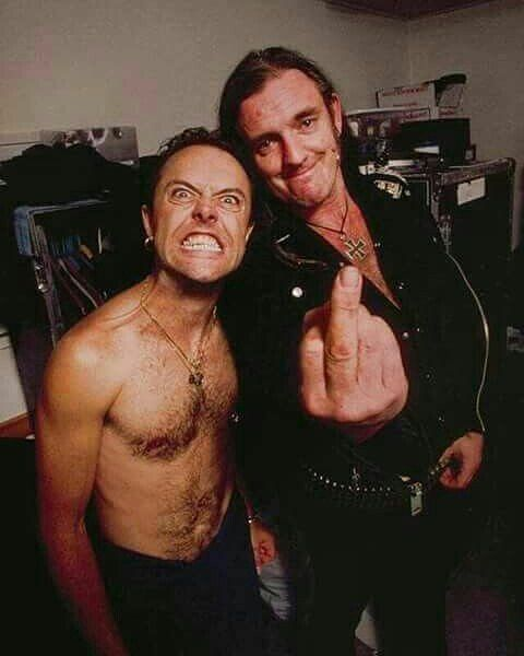 Lars and Lemmy