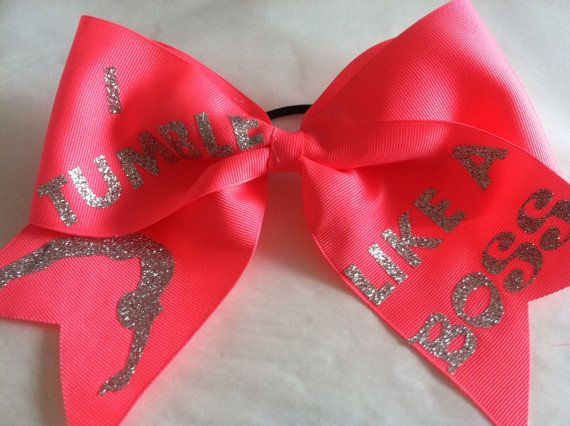 Cheerleading. Cheer quotes. Cheer bow. Tumbling quotes.