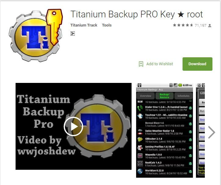 Best titanium backup pro apk download site which has working apk for rooted and non rooted devices check out here : https://titaniumbackuppro.com/