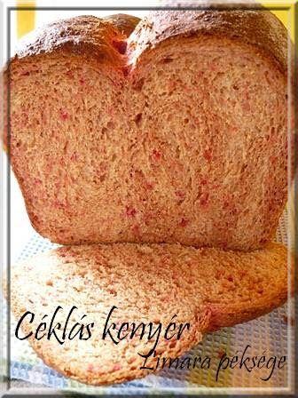 Céklás kenyér